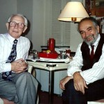 Yakov Alpert with CCS Co-chair Joel Liebowitz