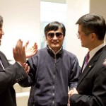US Ambassador Gary Locke with Chen Guangcheng, May 1, 2012