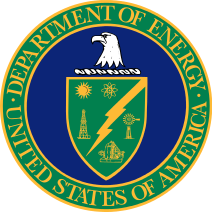 Seal of the United States Department of Energy.