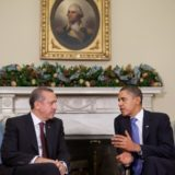 President Obama with President Erdogan of Turkey in the White House in 2009
