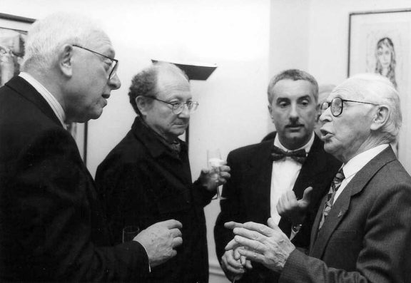 Joseph Birman, Pierre Hohenberg, Eugene Chudnovsky, Yakov Alpert