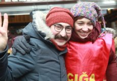 Gulmen and Ozakca Began Hunger Strike to Protest Dismissal as Academics. Shortly After, They Were Arrested.