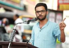 Activist Objects to Execution of a Kashmiri Militant. Centre for Historical Studies at JNU Refuses Dissertation, Threatened By Nationalists with Gun and Accused of Sedition.