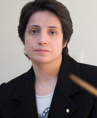 Nasrin Sotoudeh, an Iranian Human Rights Lawyer, Writes A Plea for Peace from Evin Prison , on International Women's Day